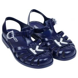 Kenzo Navy Jelly Shoes