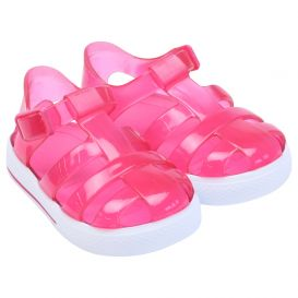 Pink Tenis Jelly Sandals