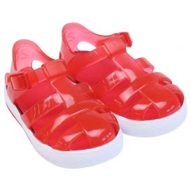 Red Tenis Jelly Sandals