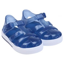 Navy Blue Tenis Jelly Sandals