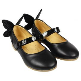 Black 3D Butterfly Shoes