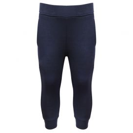 Infant Contrast Panel Navy Joggers