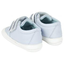 Pale Blue Slippers