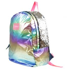 Multicoloured Sequin Detail Backpack