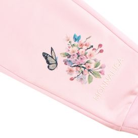 Pink Patch Jogging Bottoms