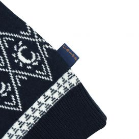 Navy Knitted Dress