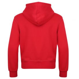 Red Icon Zip Up Hoodie