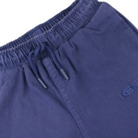 Cotton Trousers Navy