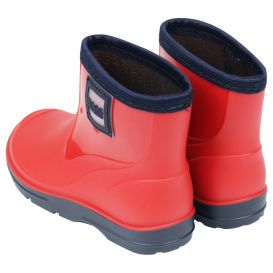 Red Logo Patch Wellies
