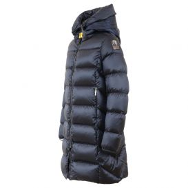 Navy Marion Hooded Jacket