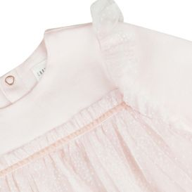 Apricot Pink Tulle Dress