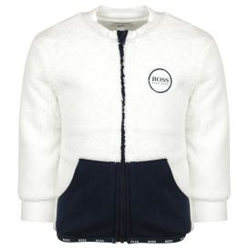 Navy & Off White Tracksuit