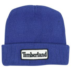 Blue Pull On Beanie Hat