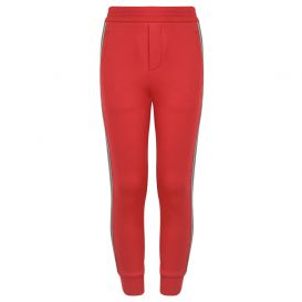Red Logo Joggers