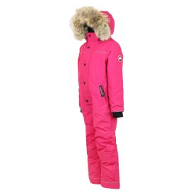 Pink Grizzly Snowsuit