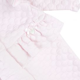 Pink Quilted Romper