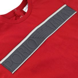 Red Baby Cotton T Shirt