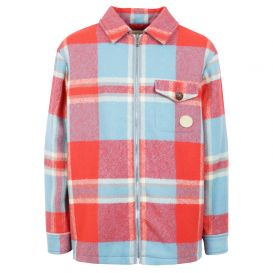 Red & Turquoise Check Jacket