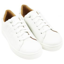 White Low Trainers