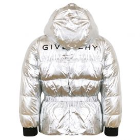 Silver Down Puffer Jacket
