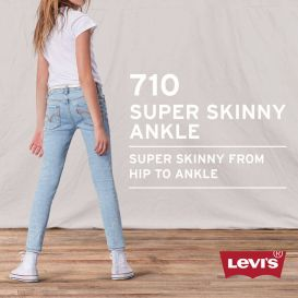 Blue 710 Skinny Tapered Jeans