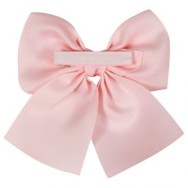 Bow Clip Pink