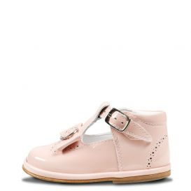 Bow Shoes Pink Patent Leather