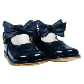 Babyshoes Shoes Navy Patent Leather
