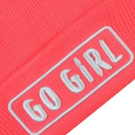 Pull On Hat & Snood Pink