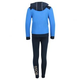 Boys Tracksuit Navy and Blue