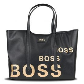 Boss Logo Changing Bag Black