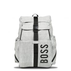 Rucksack Baby Changing Bag Grey