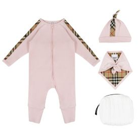 Burberry Baby Claude Set Pink
