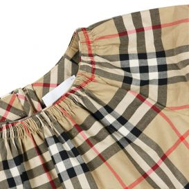 Hedi Dress Beige Check