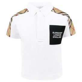 Mini Johnathan Polo Shirt White