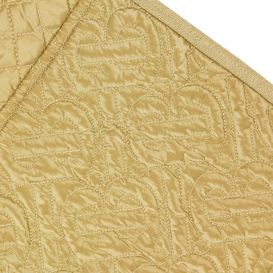 Timothie Quilted Panel Jogging Bottoms Beige