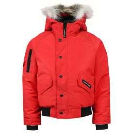 Rundle Bomber Jacket Red