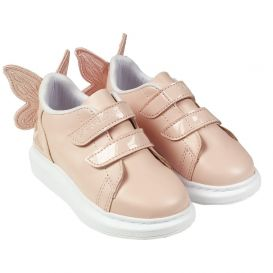 Caramelo Kids Butterfly Trainers Pink