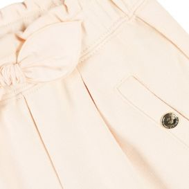 Pink Bow Detail Trousers