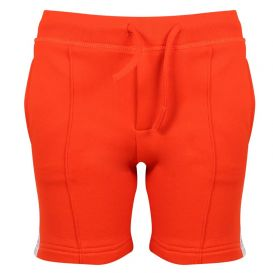 Logo Tape Shorts Orange