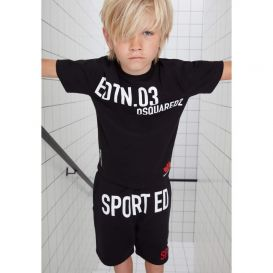 Sport Edition T Shirt Black