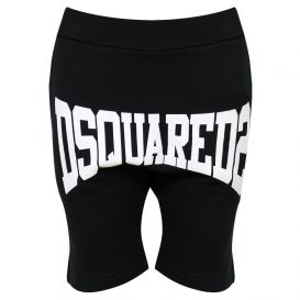 Stretch Logo Shorts Black