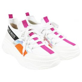 Logo Trainers White