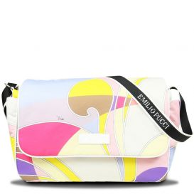 Patterned Backpack Multicoloured
