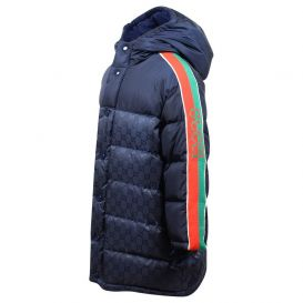 Blue GG Padded Jacket