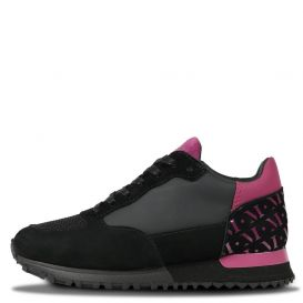 Popham Trainers Black & Pink