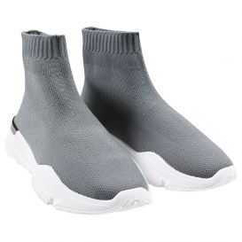 Sock Runner Trainers Grey