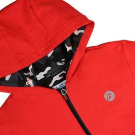 3 Piece Jogger Tracksuit Red