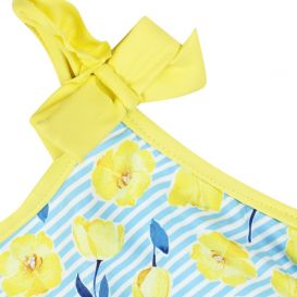 Buttercup Swimsuit Blue & White