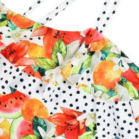 Lily & Watermelon Ruffled Swimsuit Multicoloured